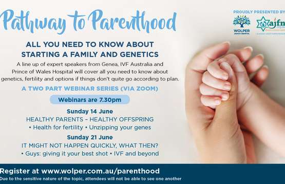 Pathway to Parenthood-two part webinar series
