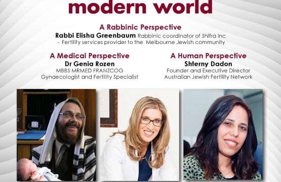 Jewish fertility challenges in the modern world
