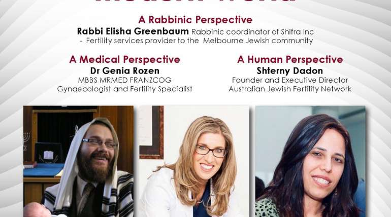 Jewish fertility challenges in the modern world