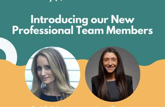WELCOME TO OUR NEW AJFN TEAM MEMBERS
